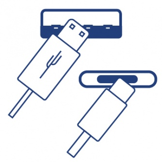 USB kabely